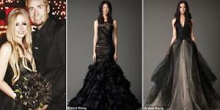 Gaun Pengantin Hitam Jadi Trend