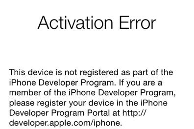 iOS Beta Firmware Hanya Untuk Developer