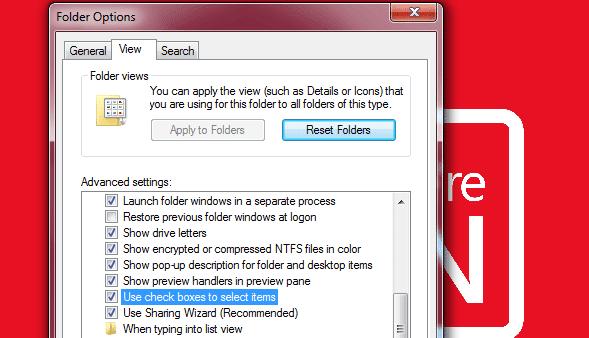 Cara Menyeleksi File Menggunakan Fitur Check Box Pada Windows