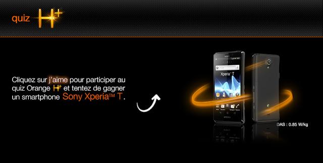 5 smartphones Sony Experia T