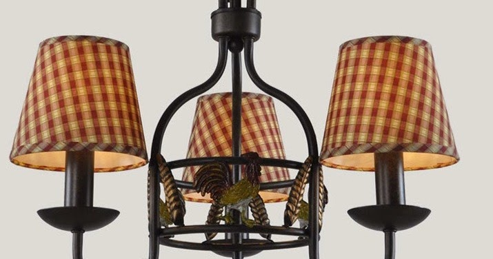 Homeroad Repurposed Rooster Chandelier
