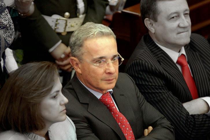 Álvaro Uribe Vélez en el Senado