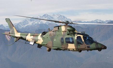 Gambar Helikopter Agusta Westland AW 109 LUH - 14