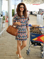 Shraddha das spotted at Airport-cover-photo
