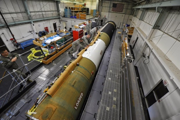 Military News - US will cut Air Force nuke missile force by 50