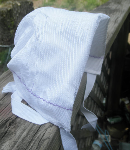 Wedding Hanky Bonnet Tutoial The Lachman Collction