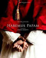 cartel de la película inaugural de la SEMINCI Valladolid Habemus Papam de Nanni Moretti