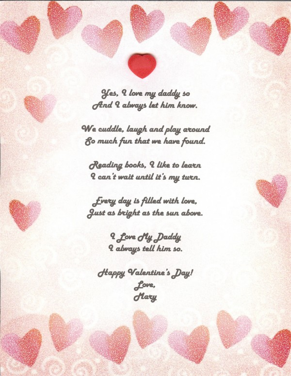 Valentine Poems For Teachers – Valentines Card Poems