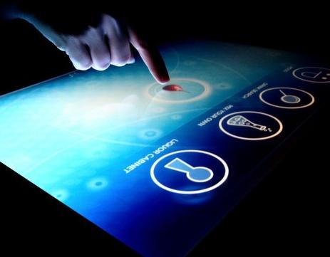 definition of touch screen touch screen. Black Bedroom Furniture Sets. Home Design Ideas
