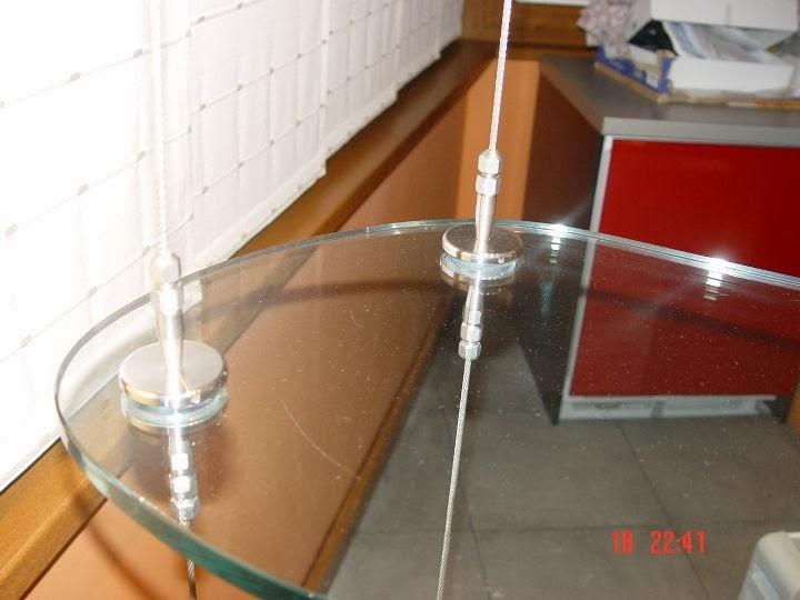 Висящ стъклен барплот 2