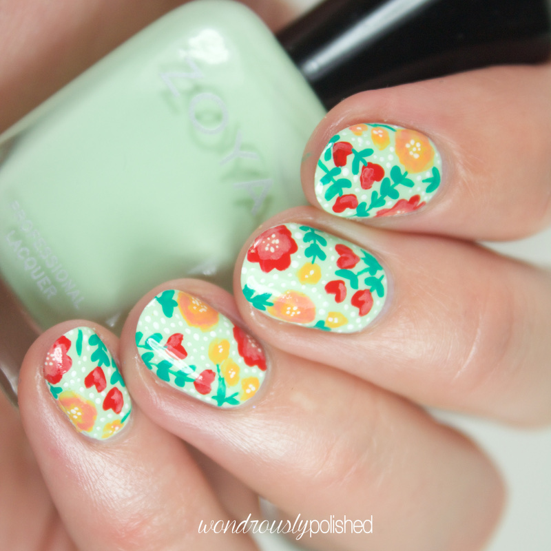 Wondrously Polished Nail Art The Planner Society Washi Series