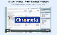 screenshot of Chrometa time logging software that PHPR uses Chrometa to run the PR agency