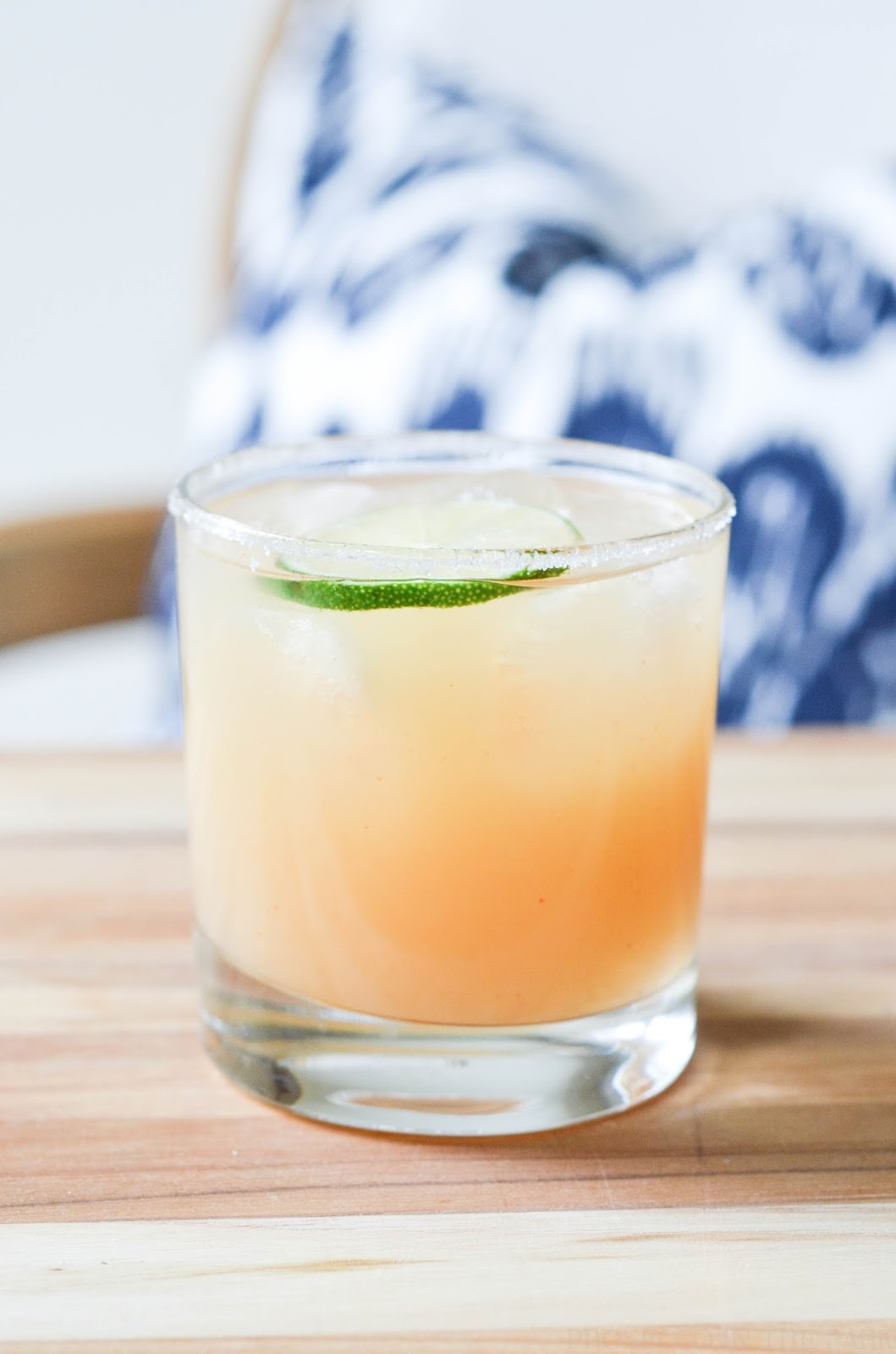 spicy grapefruit margarita | prosecco in the park