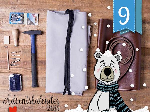 Adventskalender - Türchen Nr. 9 - Bedruckte Tasche mit Lederriemen - DIY by DaWanda