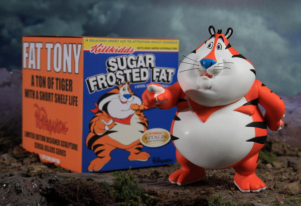 Fat Tony by Ron English