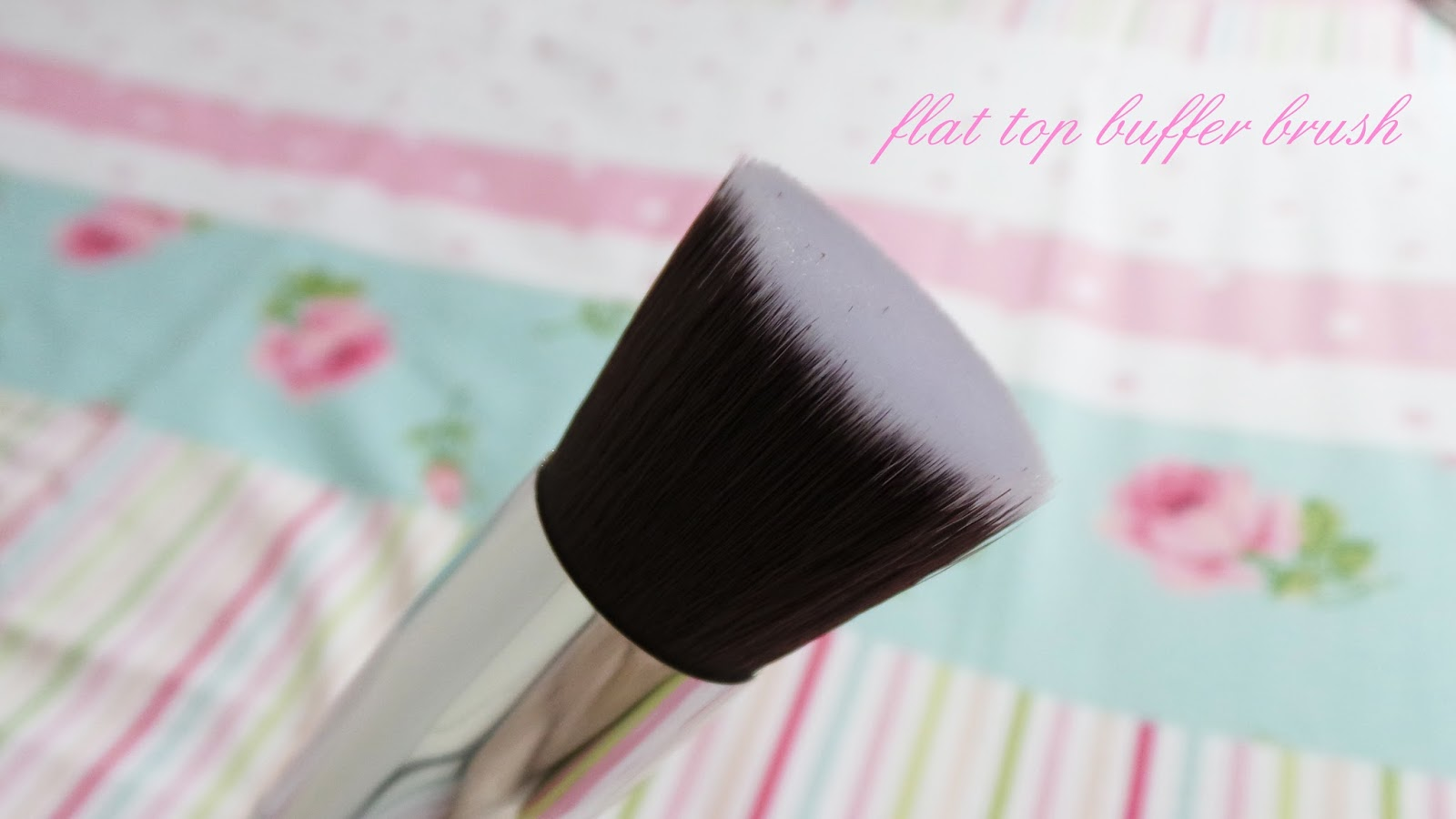 nanshy flat top buffer brush review
