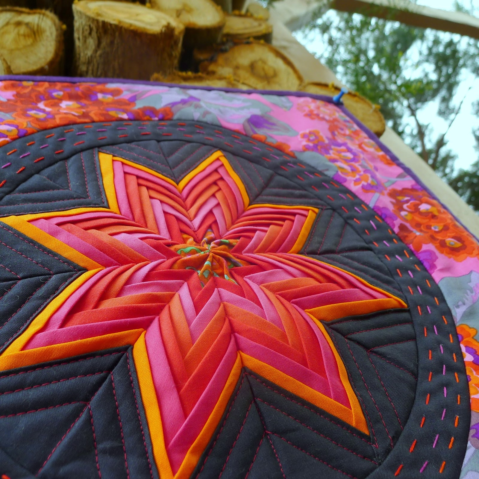 Cabbage Quilts: To Give & To Receive : folded star quilt block - Adamdwight.com