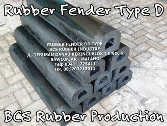Rubber Fender BCS Rubber Industry,Rubber Fender Type D