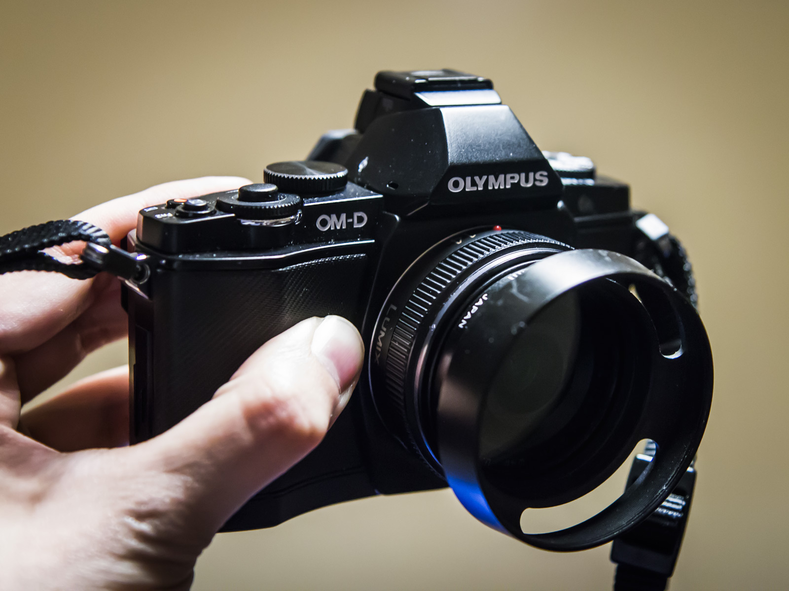 The Olympus OM-D E-M5 with Panasonic 14mm f/2.5 lens