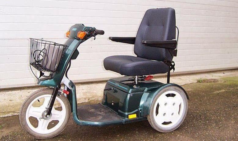grünes Elektromobil