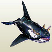 Whales Orca Papercraft Model