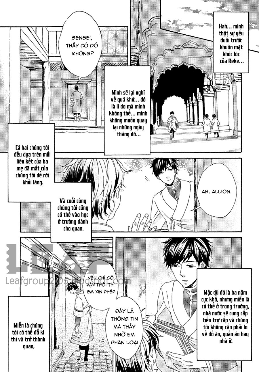 Ookami Wa Hana No Naku chap 2 - Trang 7