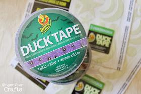 Halloween Duck Tape #StickorTreat #spon