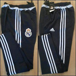 Gambar desain terbaru celana training foto photo kamera Celana training panjang Real Madrid warna hitam terbaru musim 2015/2016 di enkosa sport toko online terpercaya lokasi di jakarta