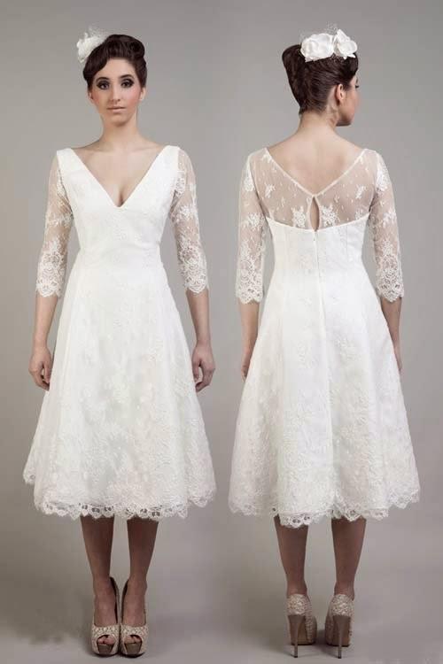2015 Cheap Short wedding dresses by Tobi Hannah