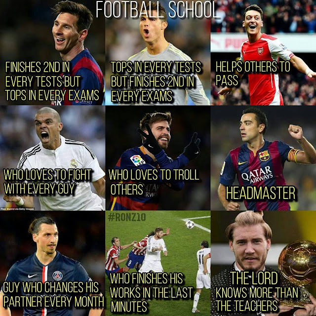 football troll memes 2016 messi neymar ronaldo cr7 pique