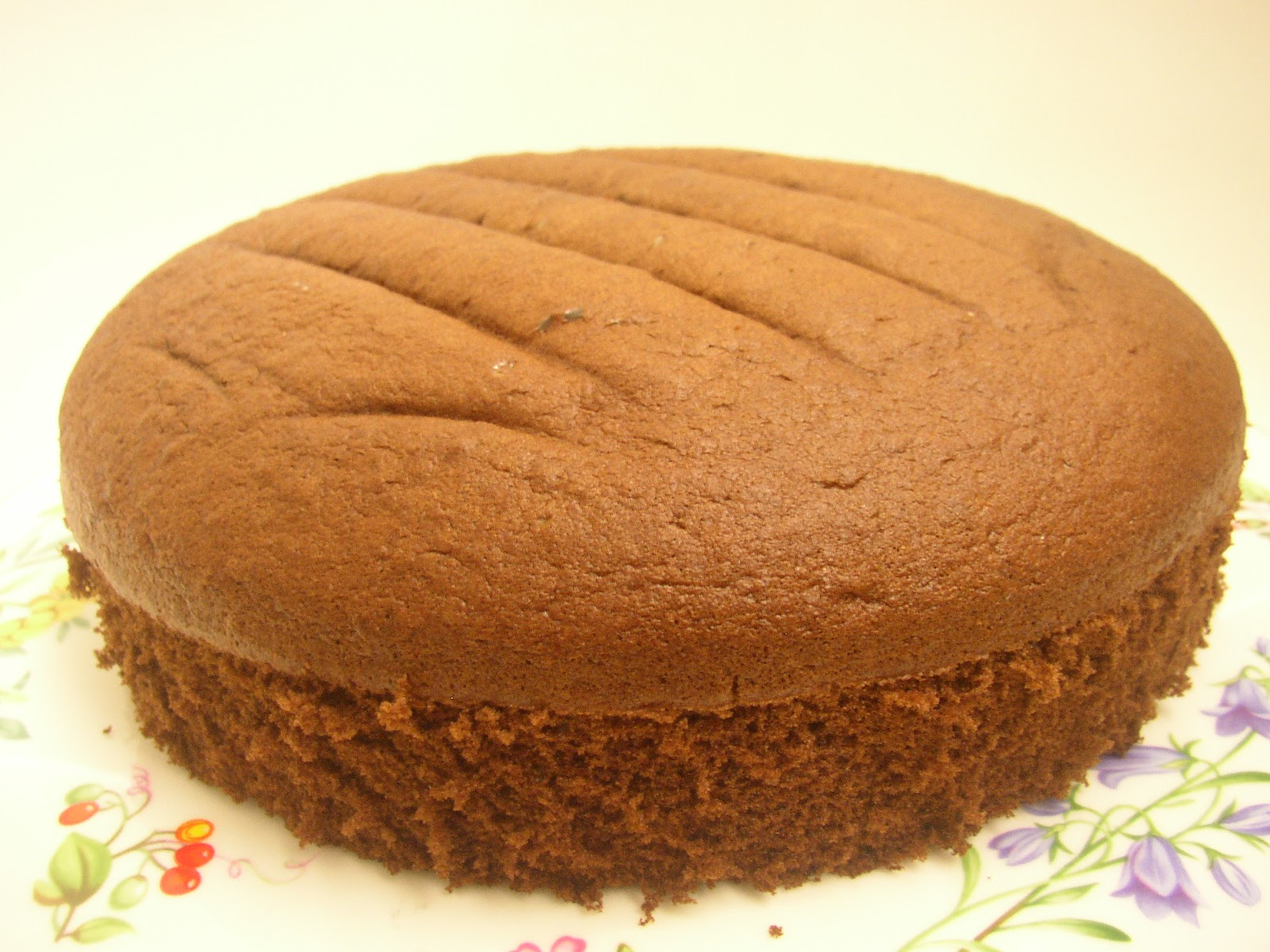 Life Is An Illusion: Chocolate Sponge Cake
