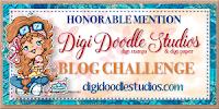 4 x Digi Doodle Honorable Mention
