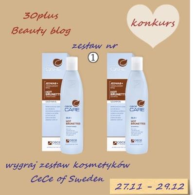 Konkurs - do wygrania 4 zestawy kosmetyków CeCe of Sweden :)