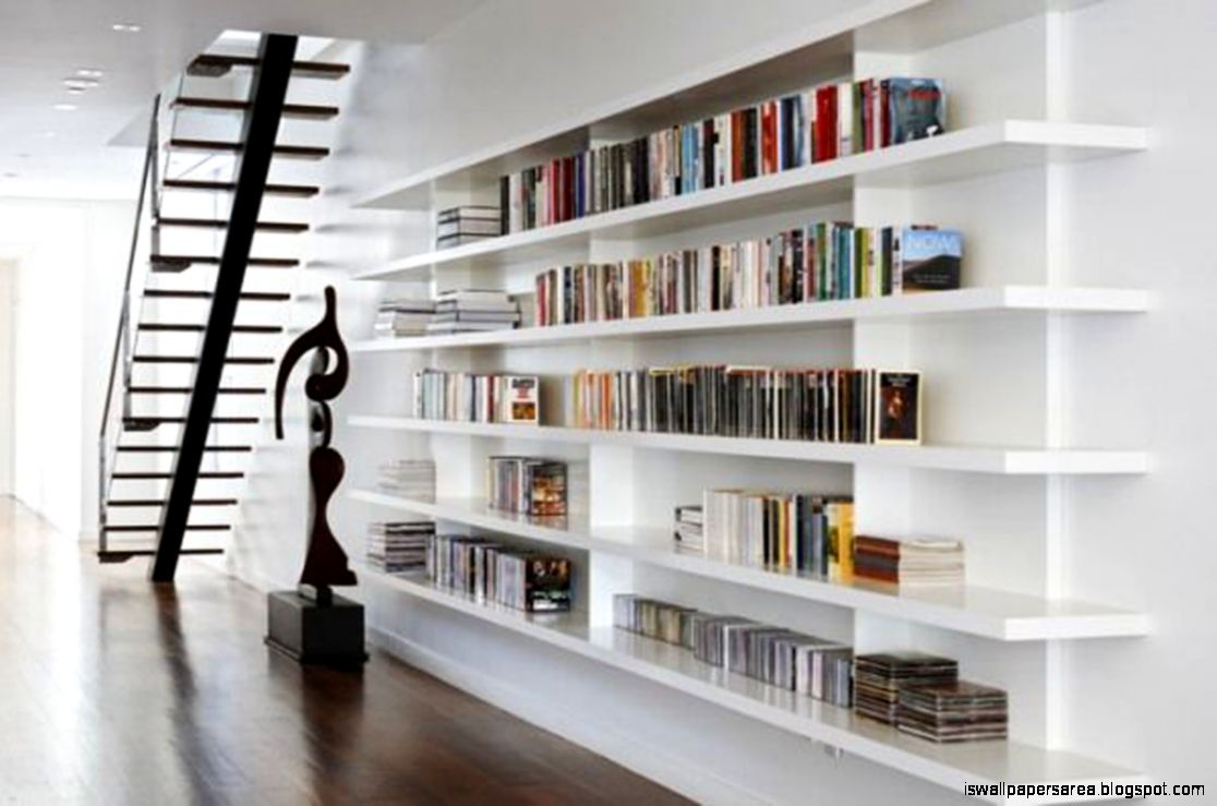 Modern Home Library Design Ideas | Wallpapers Area
