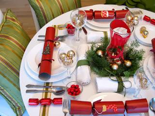 Navidad, Decoración de Mesa, Rojo
