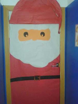 Notiblog 2014 for Puertas decoradas santa claus