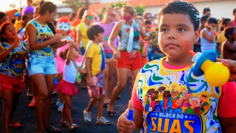 A Secretaria de Assistência Social o CMDCA e SCFV realizaram o Carnaval das Crianças