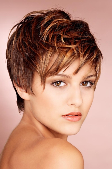 Cute Short hairstyles trends 2012