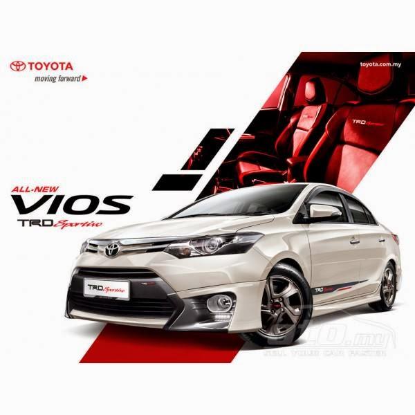 Body Kit Toyota Vios TRD Sportivo 2013-2015