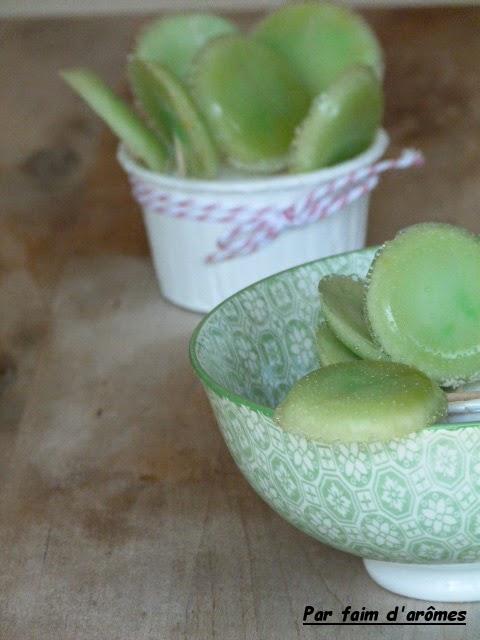 Sucettes à la pomme