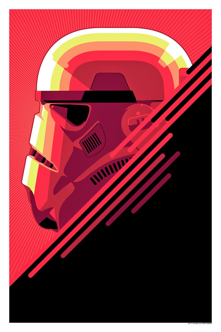 "Star Wars ""The Stormtrooper"" Screen Print by Craig Drake"