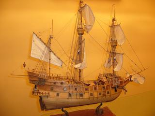 galeon San Francisco de artesania latina
