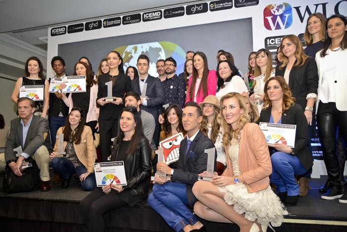 Wloggers 2015, Madrid, premiados Wloggers One y Wometrics