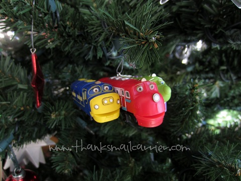 Hallmark Chuggington Christmas ornament review
