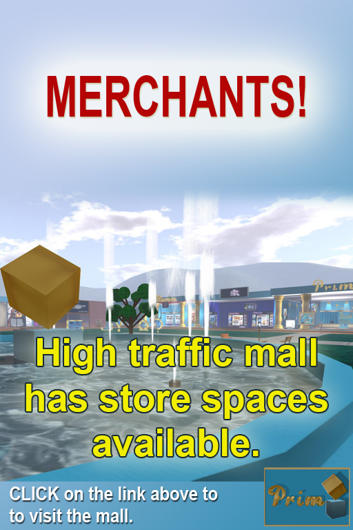 Available Space for Merchants