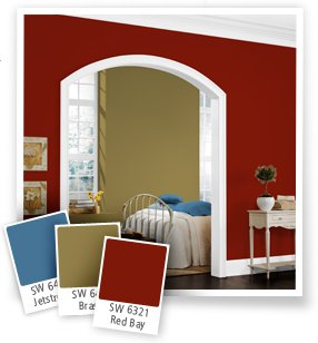 Paint colors for living room Ideas for painting rooms