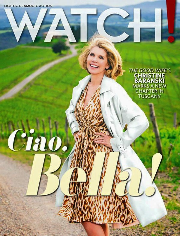 Actress @ Christine Baranski - Watch Magazine, US, April 2015