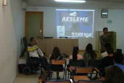 AESLEME CAMPAÑA DE SENSIBILIZACIÓN CONTRA ACCIDENTES IES ALBAYTAR OCTUBRE DE 2012