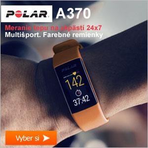 Fitness náramok Polar A370