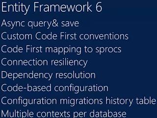 Entity Framework 6 新功能